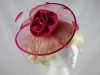 J.Bees Millinery Pink Headpiece